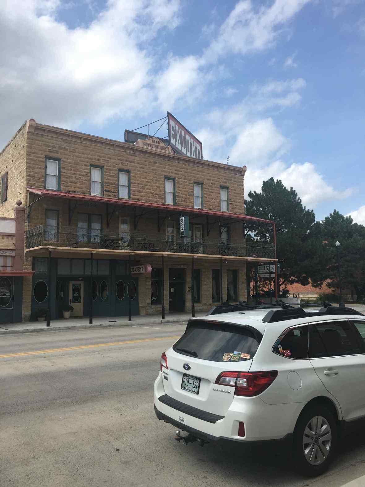 Eklund Hotel Clayton New Mexico