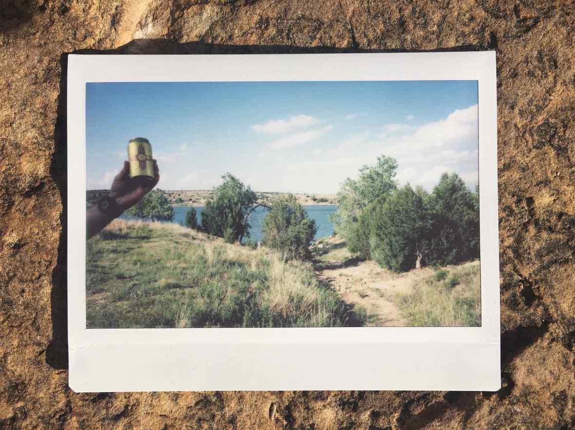 Instax Photo Santa Fe Brewing Happy Camper IPA