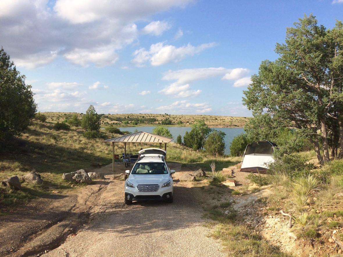 Clayton Lake Campsite