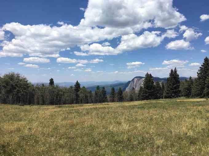 Looking toward Chama Valley New Mexico