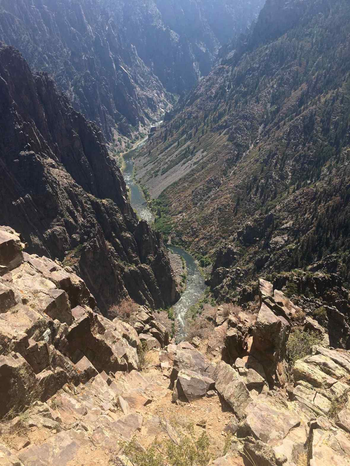 Gunnison River in Black Canyon of the Gunnison National Park, Colorado