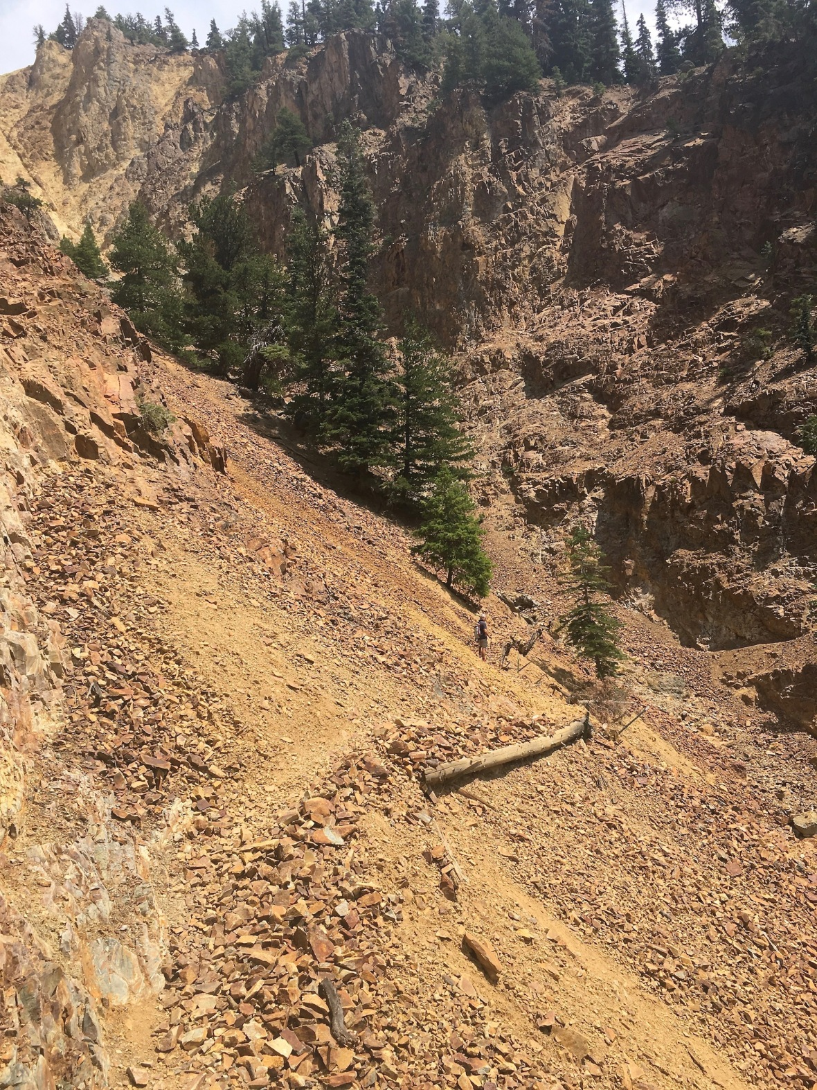 Old Horsetheif Trail Ouray Colorado