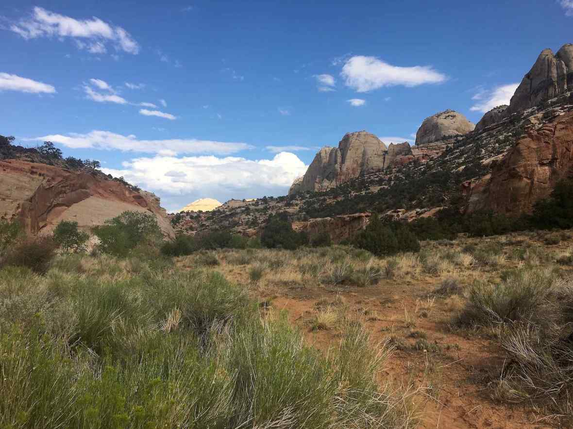 Pleasant Creek Trail in Capitol Reef National Park