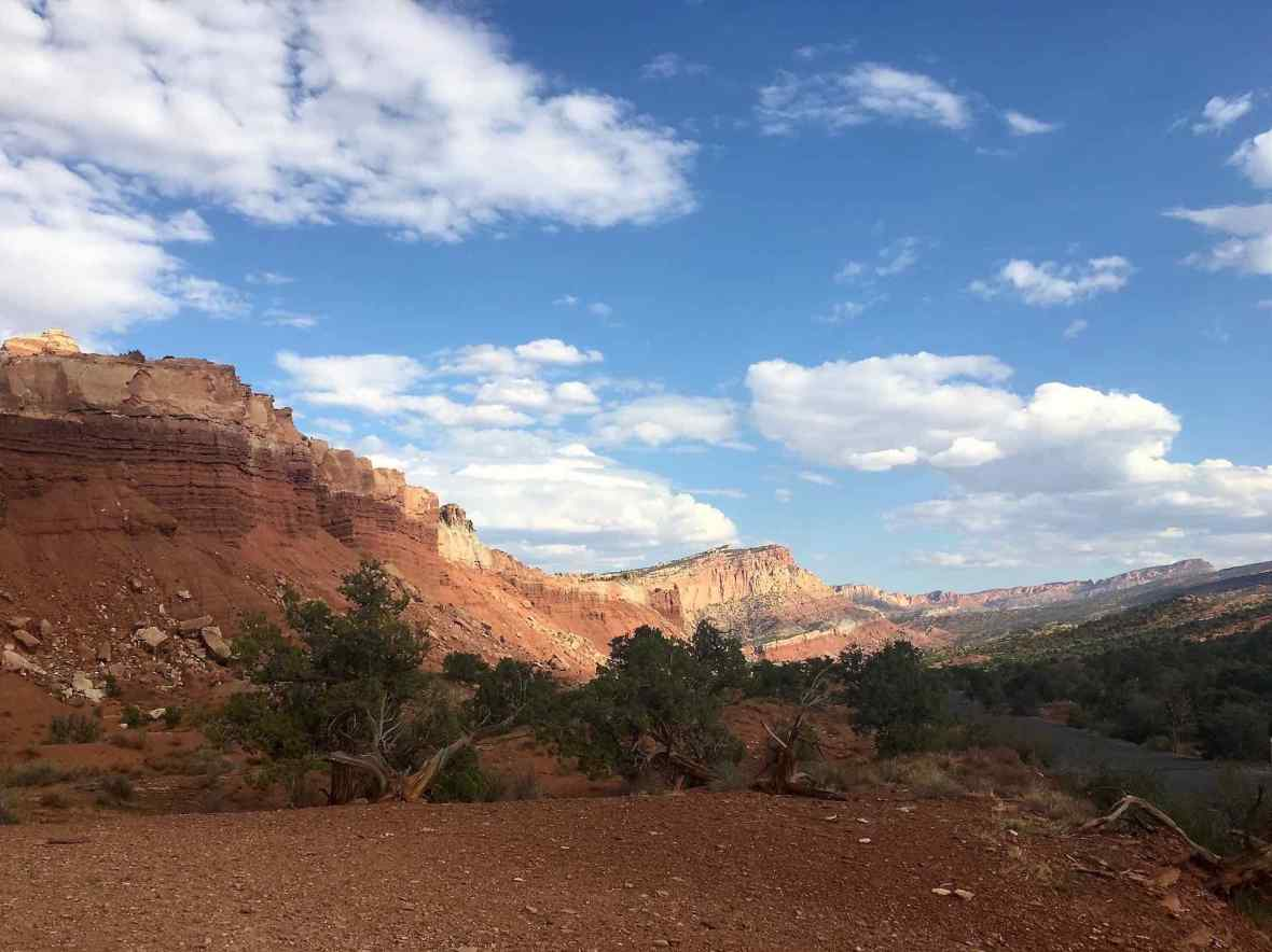 Capitol Reef Vista from Scenic Drive