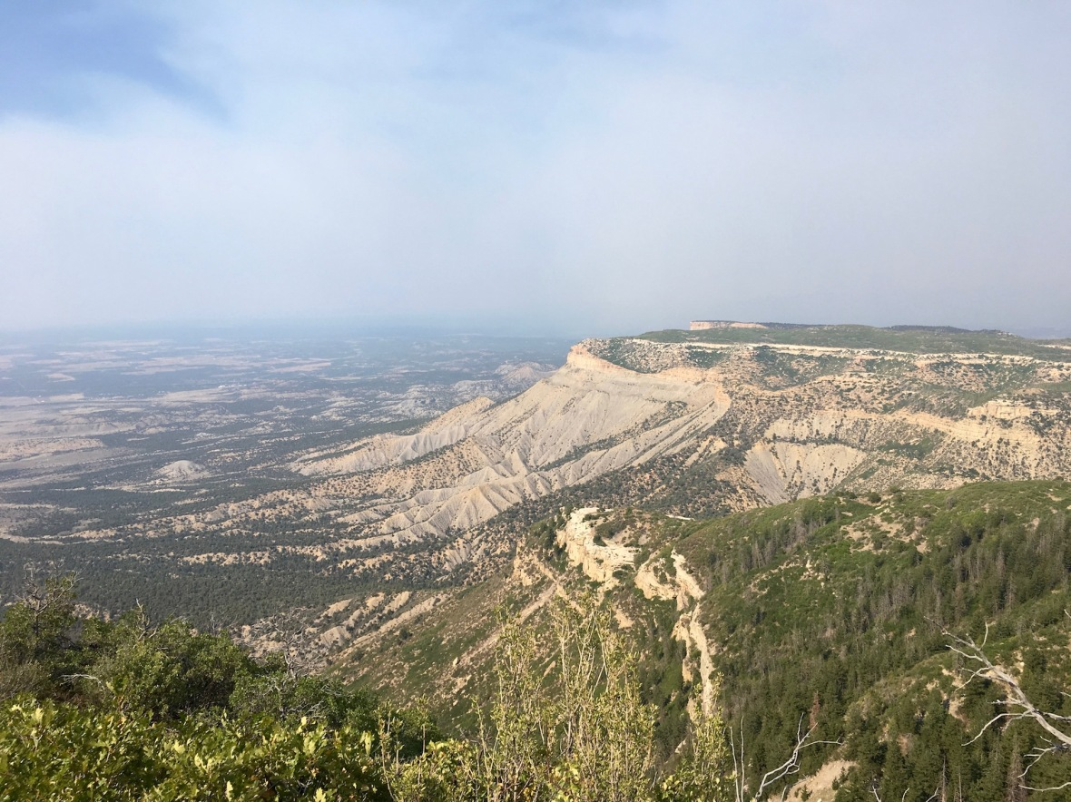 Smokey Skies at Mesa Verde