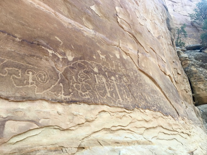 Petroglyph Point Trail at Mesa Verde National Park