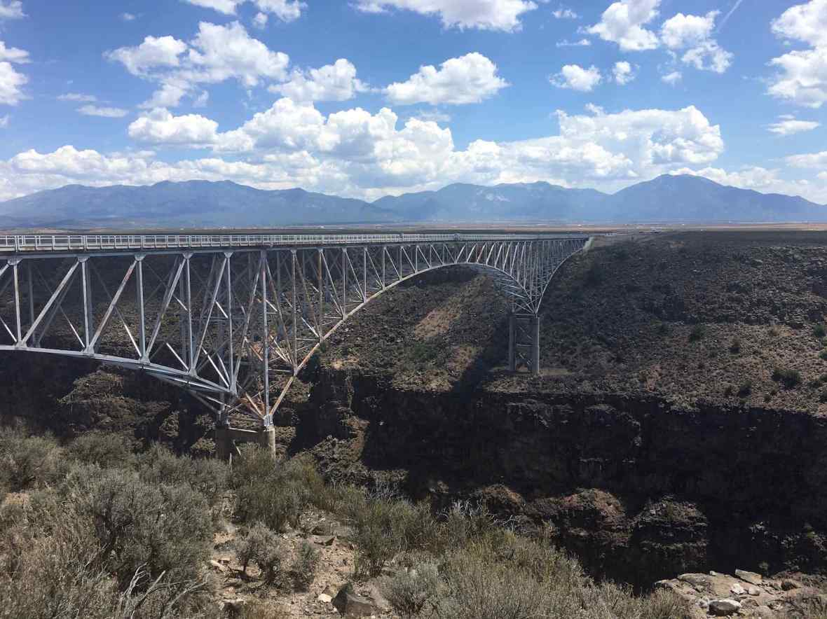 Rio Grande Gorge Bridge West of Taos