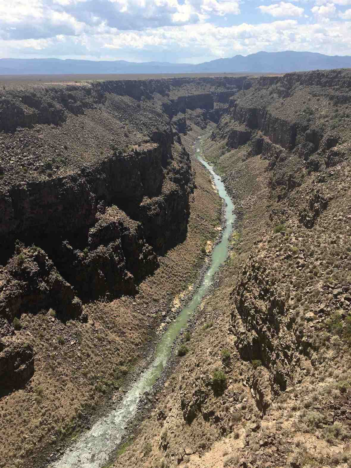 The Mighty Rio Grande Gorge Taos