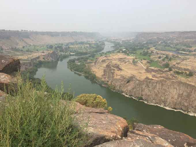 Snake River Canyon in Twin Falls Idaho