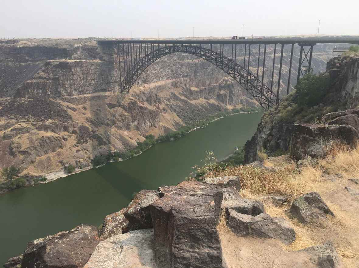 Perrine Bridge Snake River Canyon Twin Falls, Idaho