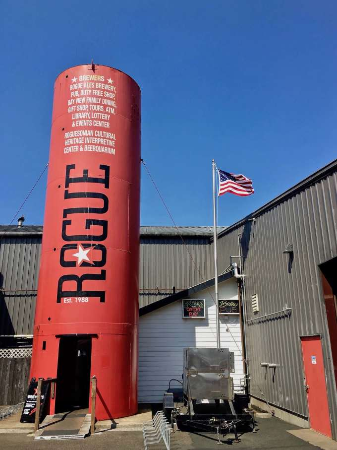 Rogue Brewing Brewery Entrance Newport Oregon
