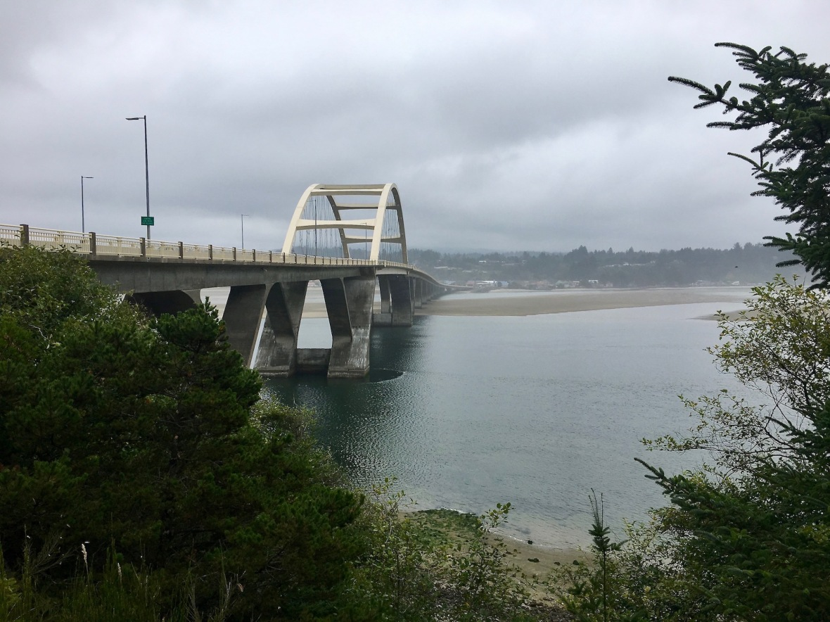 Alsea Bay Bridge Oregon Coast Highway 101
