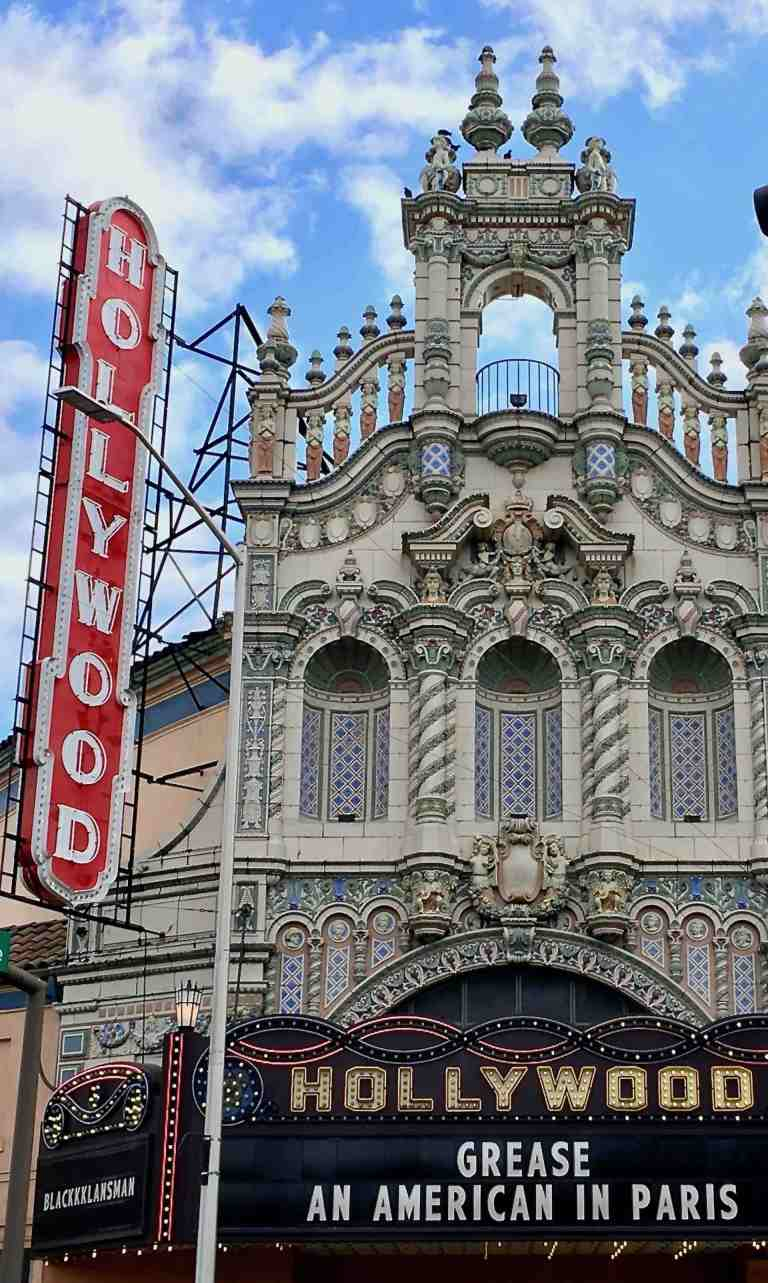 The historic Hollywood Theatre in Portland, Oregon