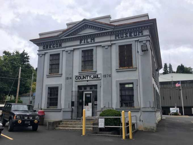 Oregon Film Museum Old County Jail Astoria Oregon The Goonies filming location