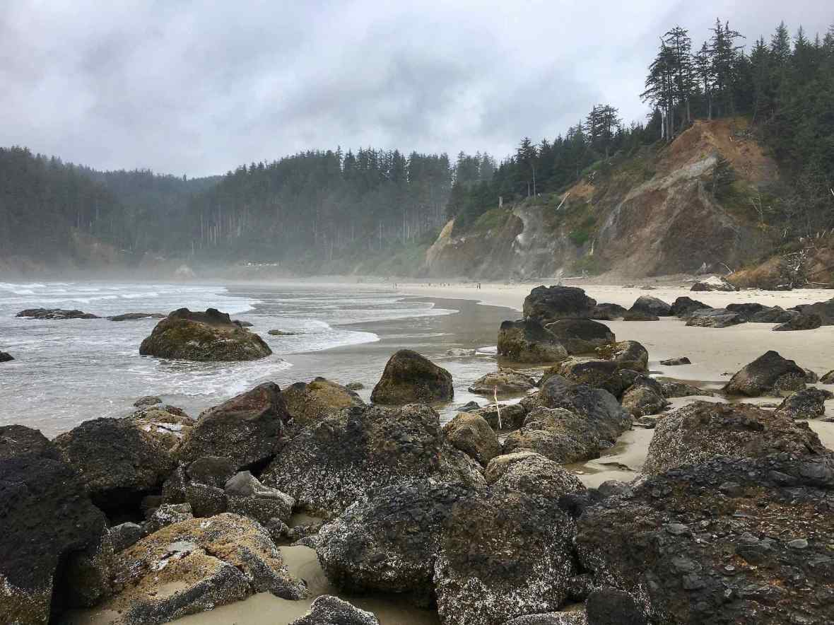 Indian Beach surf hotspot Oregon Coast
