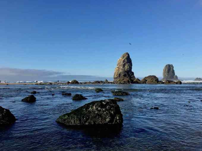 Sea Stacks at Cannon Beach Oregon