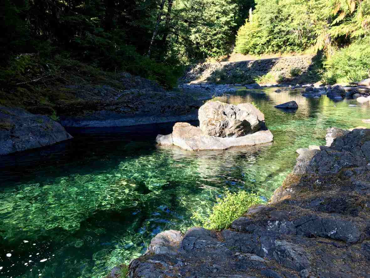 Salmon Cascades of the Sol Duc River