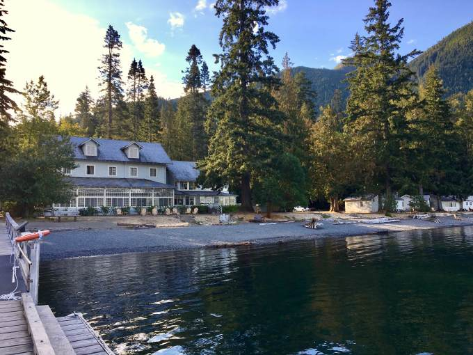 Historic Lake Crescent Lodge at Olympic National Park