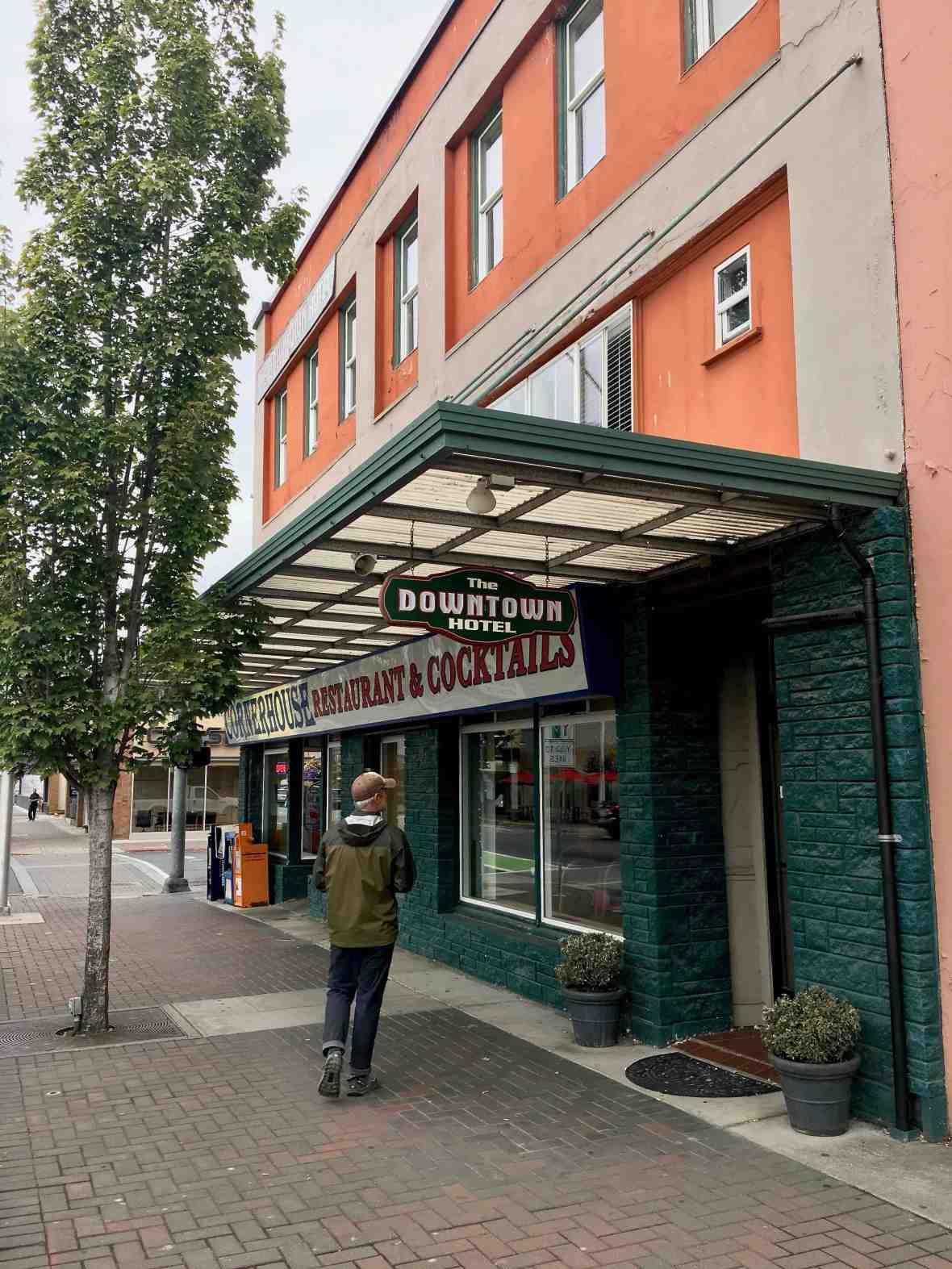 The Downtown Hotel and Cornerhouse Restaurant & Cocktails Port Angeles Washington