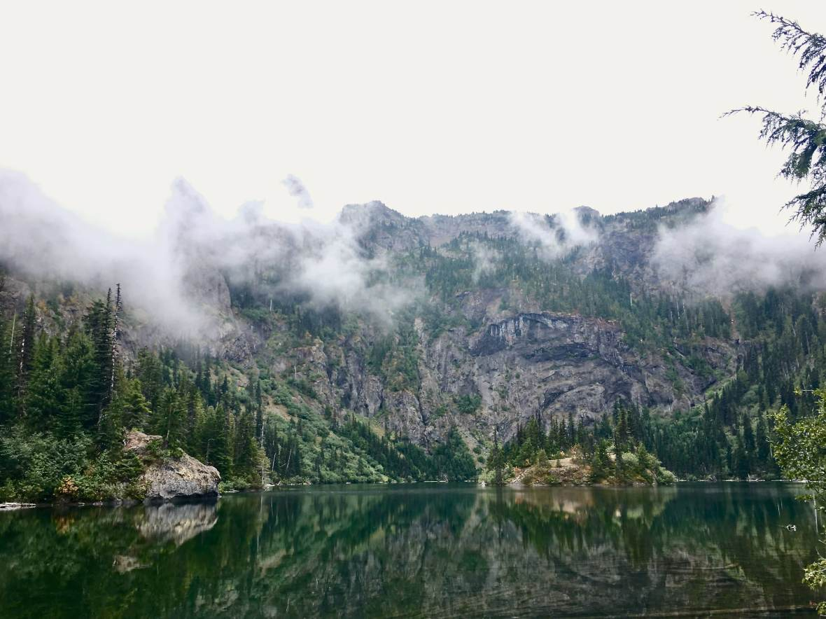 Lake Angeles in Olympic National Park