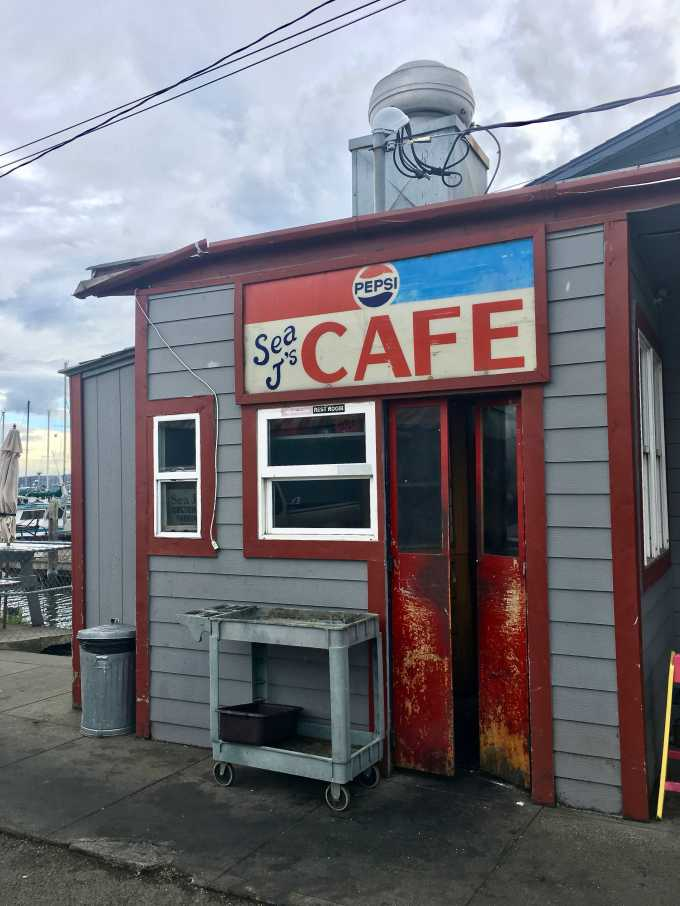 Sea J's Cafe delicious dive in Port Townsend Washington