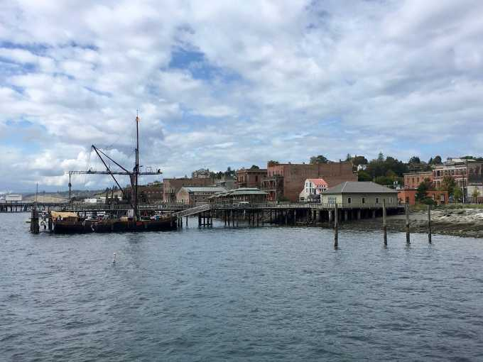 Port Townsend Washington waterfront