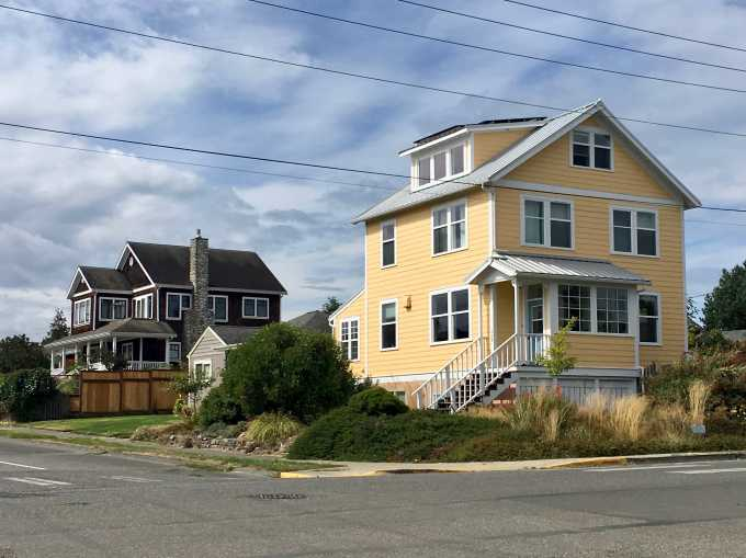 Lovely old homes in Port Townsend, Washington