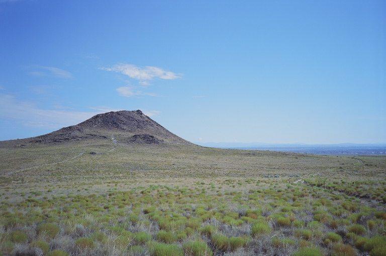 Expired Kodak Elite Chrome 35mm Expired film photograph Volcano at Petroglyph National Monument Albuquerque New Mexico