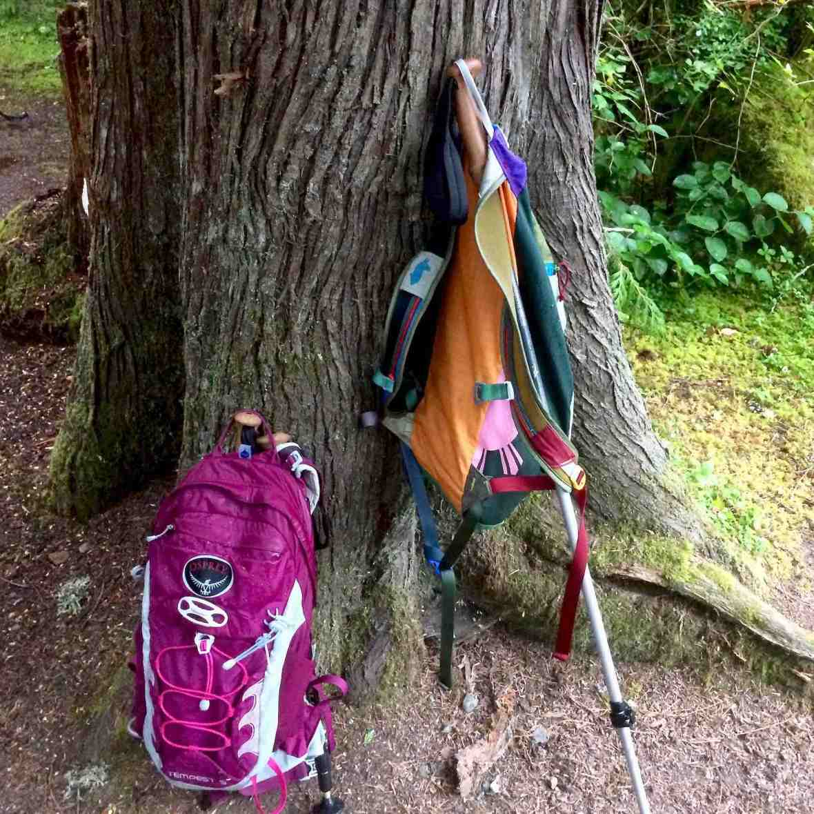 Gear review Osprey Tempest 9 backpack and Cotopaxi Luzon 18L daypack