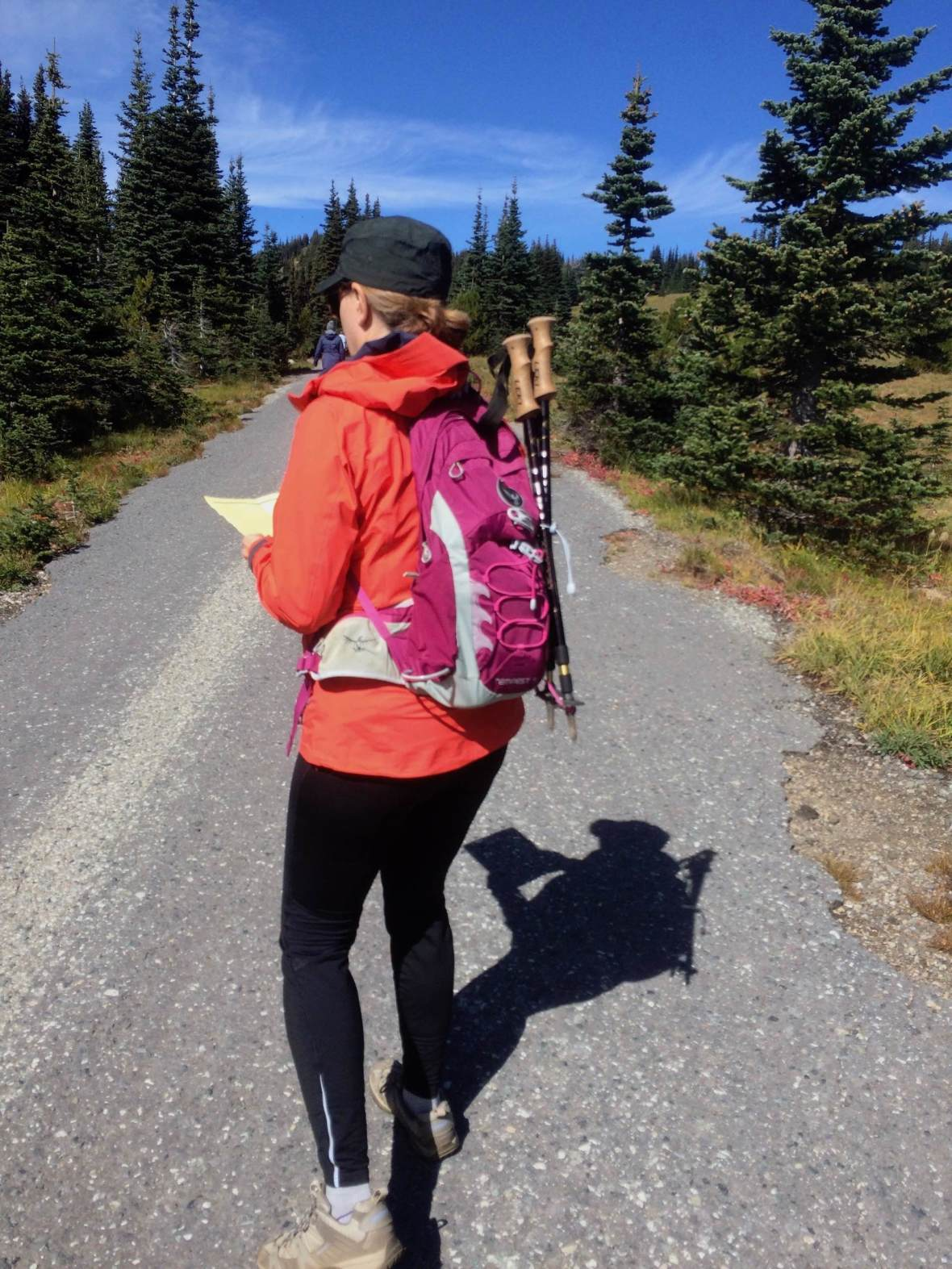 Gear Review Osprey Tempest 9 backpack daypack Mount Rainier National Park