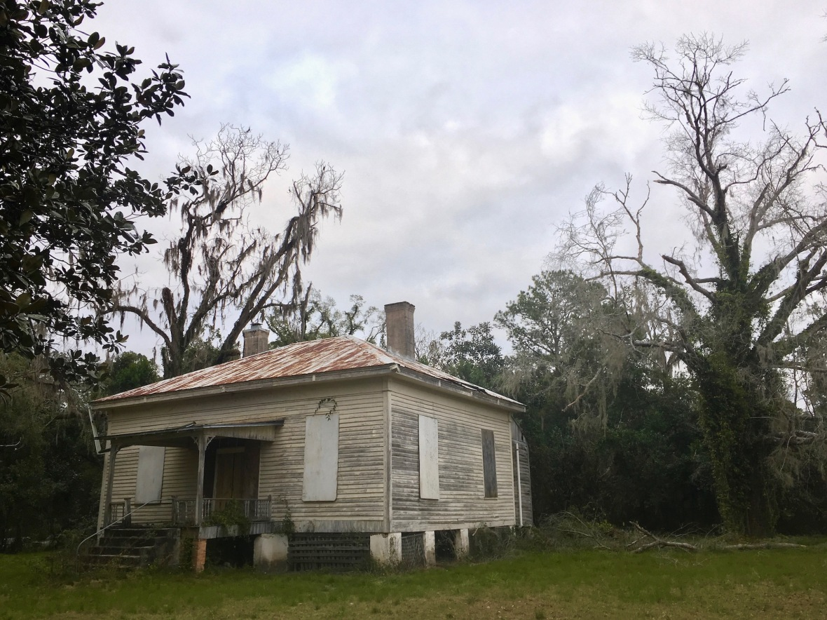 Cracker house in White Springs, Florida