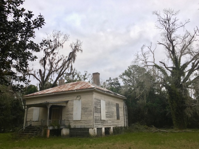 Cracker house in White Springs, Florida