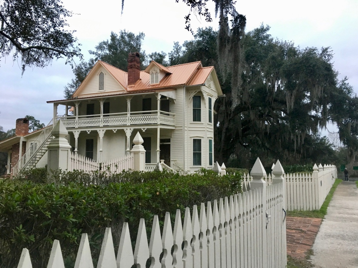 Victorian Home on the Suwannee River in White Springs Florida