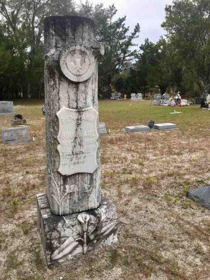 Antioch Cemetery, Island Grove. Florida