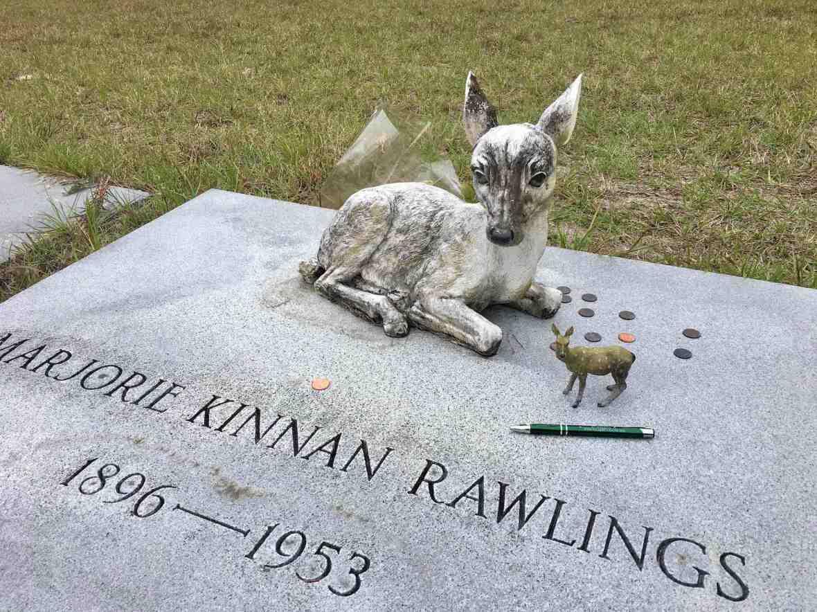 In tribute, at Marjorie Kinnan Rawlings Gravesite in Island Grove. Florida