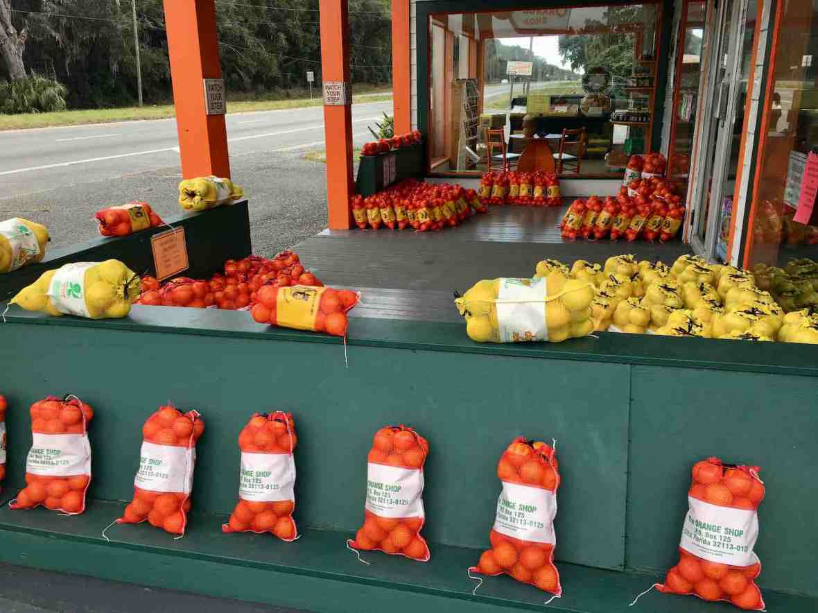 The Orange Shop in Citra, Florida