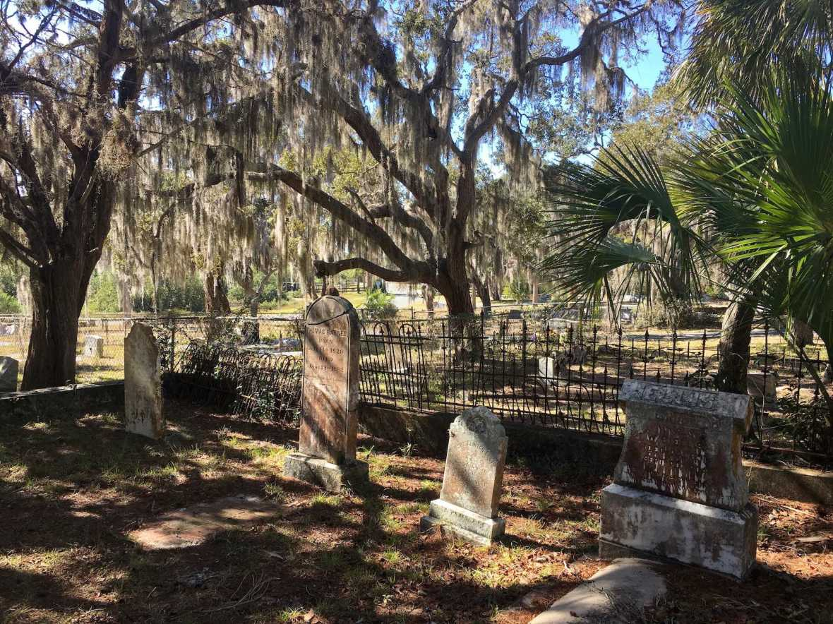 Historic Cedar Key Florida Cemetery