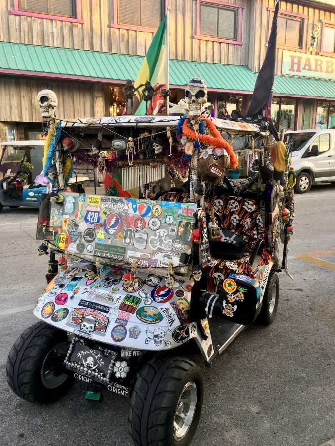 Cedar Key vehicle