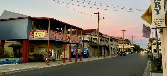 2nd Street - Downtown Cedar Key, Florida