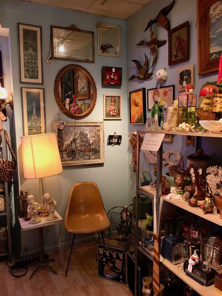 Mid Century antiques in St. Pete, Florida