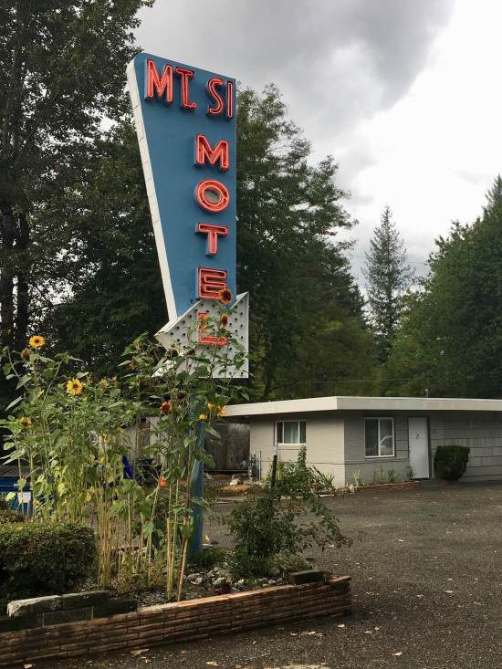Mt. Si Motel North Bend, Washington - Twin Peaks Filming Location