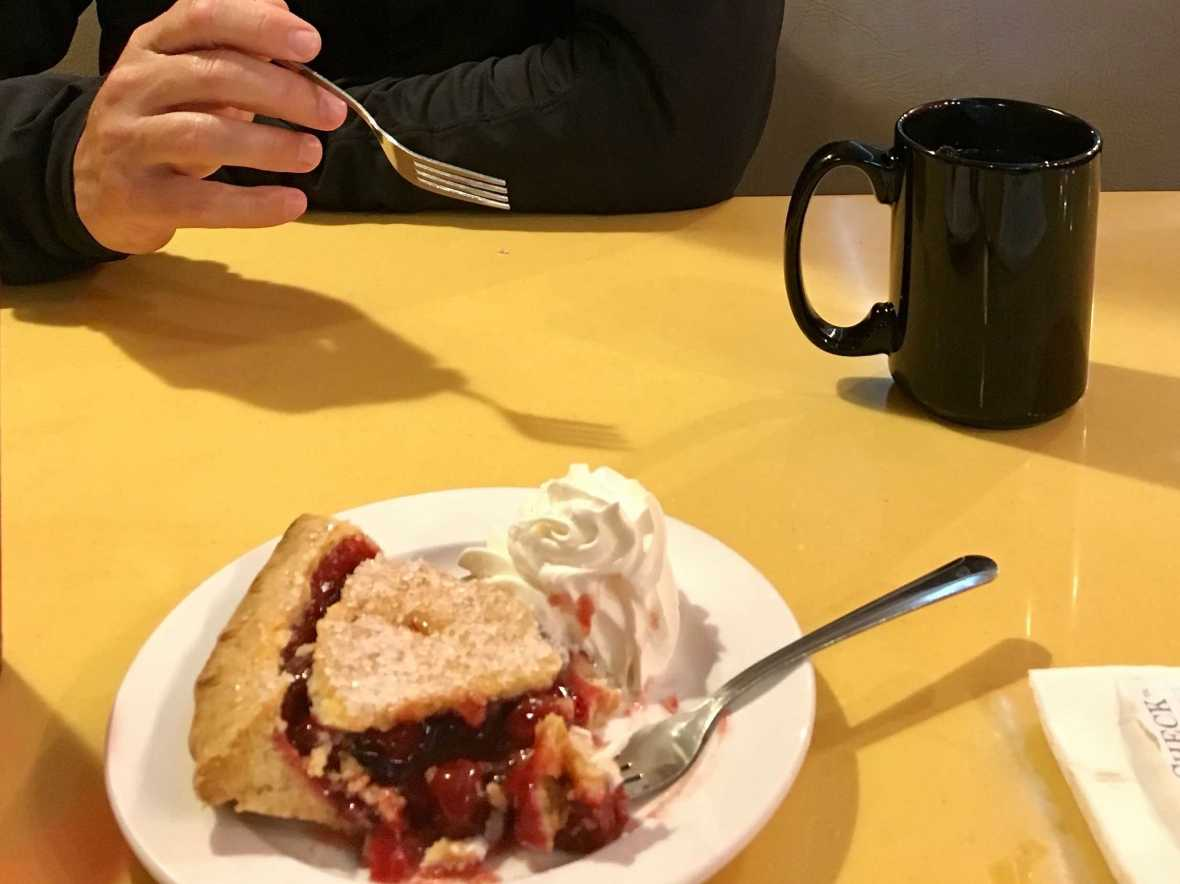 Pie at Twede's Cafe (aka The RR or Double R Diner) North Bend, Washington - Twin Peaks Filming Location