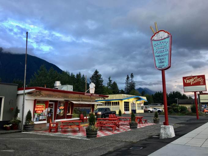 Scott's Dairy Freeze, North Bend Washington