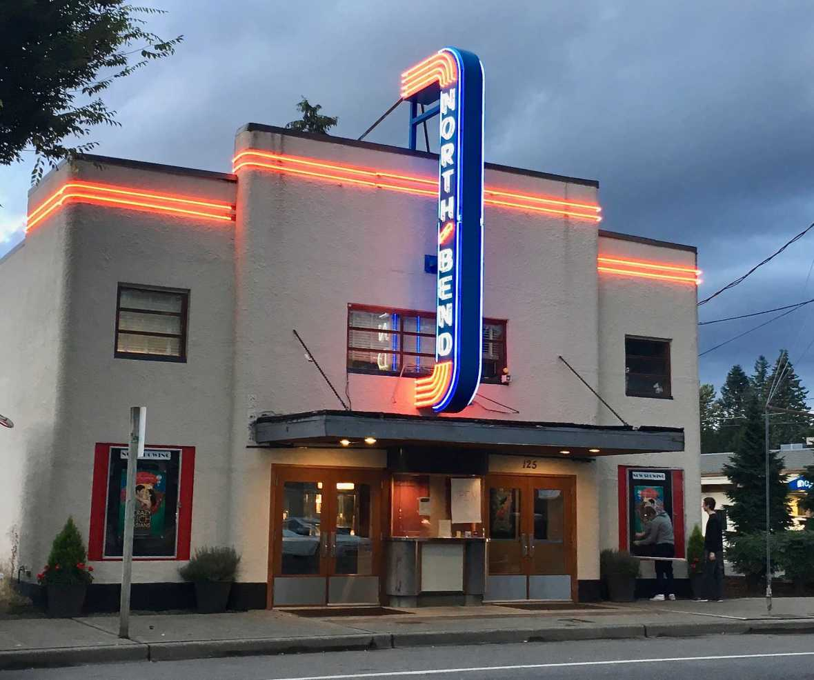 Historic North Bend Theater Theatre WA