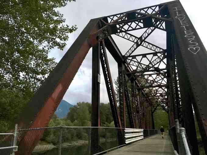 Twin Peaks filming location - Ronette's Bridge in Snoqualmie, Washington