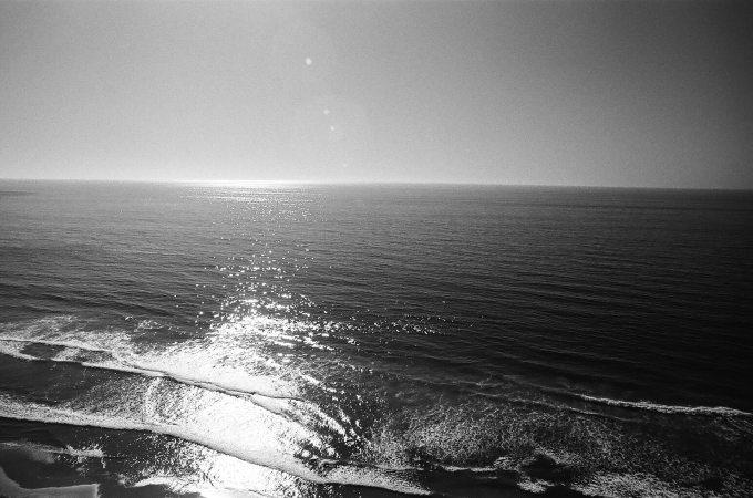 35mm film photography Kodak Tri-X 400 Pacific Ocean San Diego Nikon F2