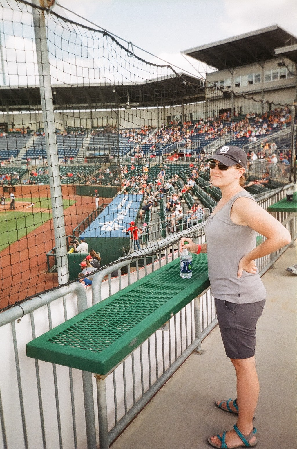 Marsi at Chattanooga Lookouts Game