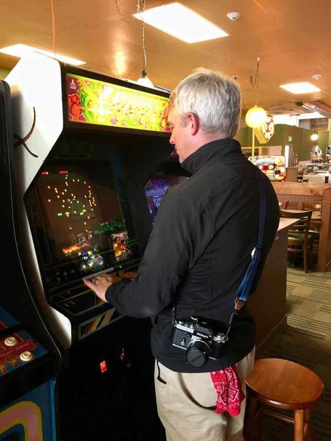 Old-school gaming at Ruckus Room Arcade