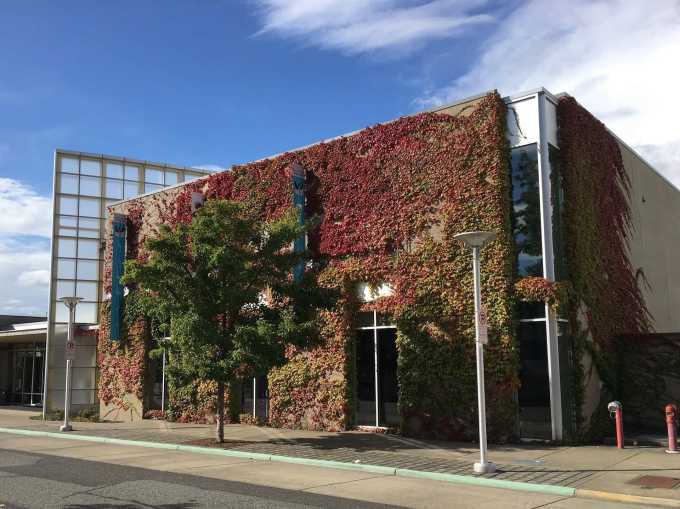 Whatcom Museum's Lightcatcher Building in downtown Bellingham, Washington