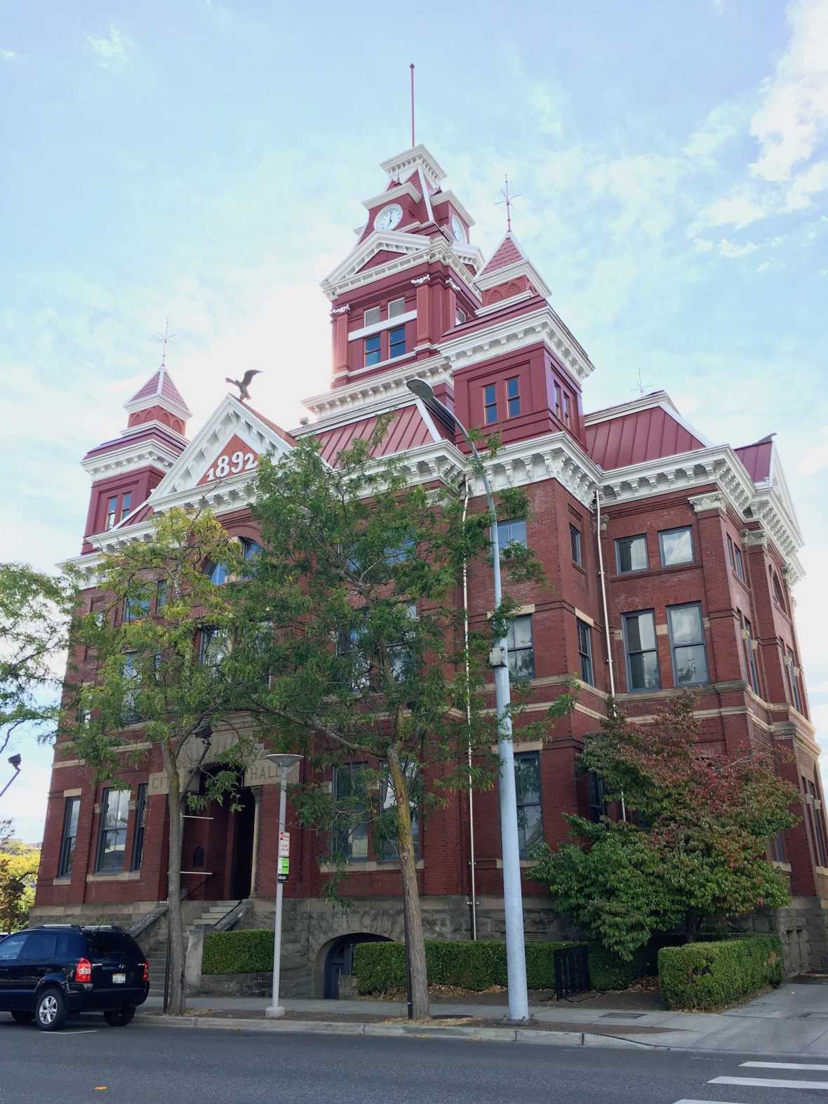 Whatcom Museum - Old City Hall in downtown Bellingham, Washington